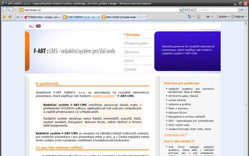Microsoft Internet Explorer 7 CZ