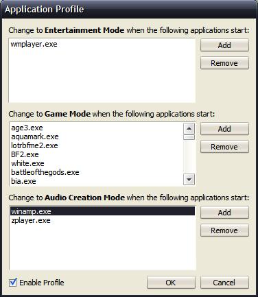 Creative X-Mode Changer
