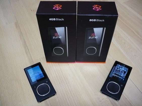 4 a 8GB verze Zune