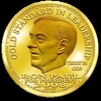 Ron Paul Dolar hlava