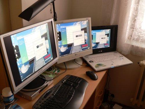 tri monitory