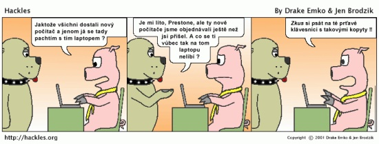strip z jednoho komixu