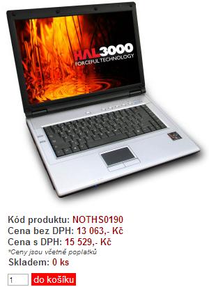 notebook hal3000