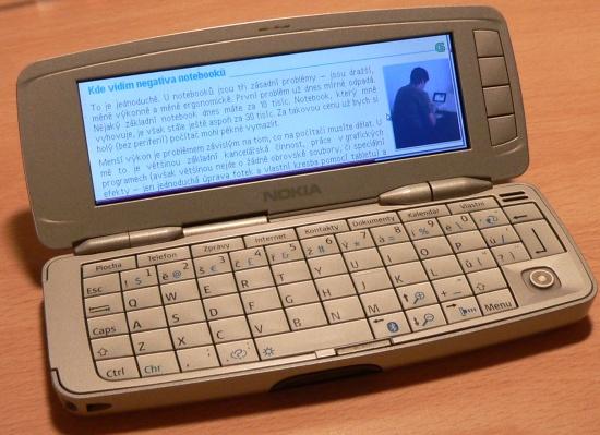 Pro porovnani Nokia 9300
