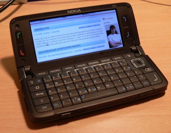 Nokia e90 v akci