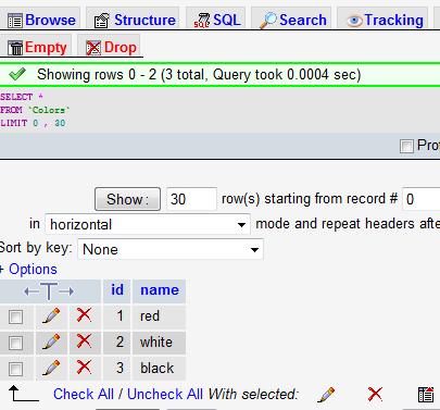 MySQL2