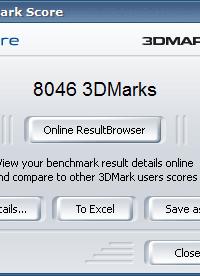 3Dmark05 7800GT