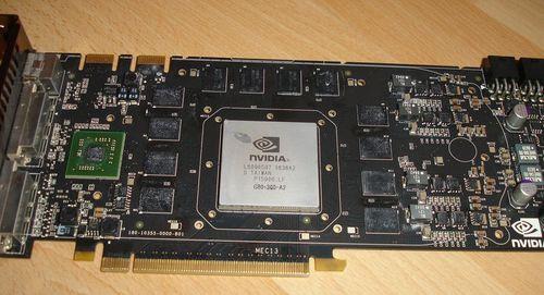 8800GTX karta  po sundání originálního chladiče