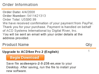 ACD See Pro 2 licence