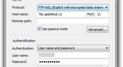 FTP+SSL