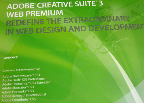 Adobe Creative Suite 3 Web Premium