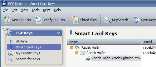 Alladin Smart Card Keys