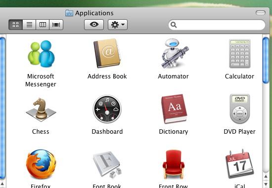 aplikace v OS X