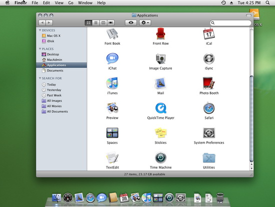 OS X aplikace