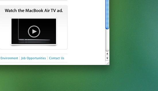 změnit velikost okna v OS X je skoro nemožné