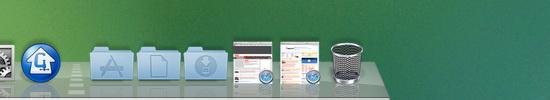 více stejných aplikací v liště rozpoznáte těžce
