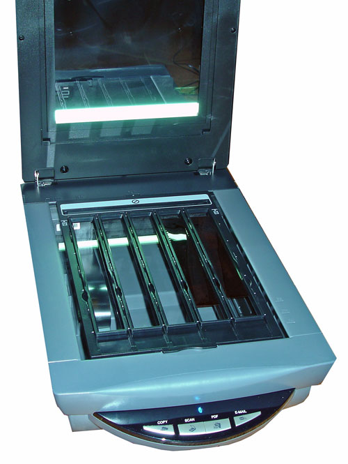 otevřený skener