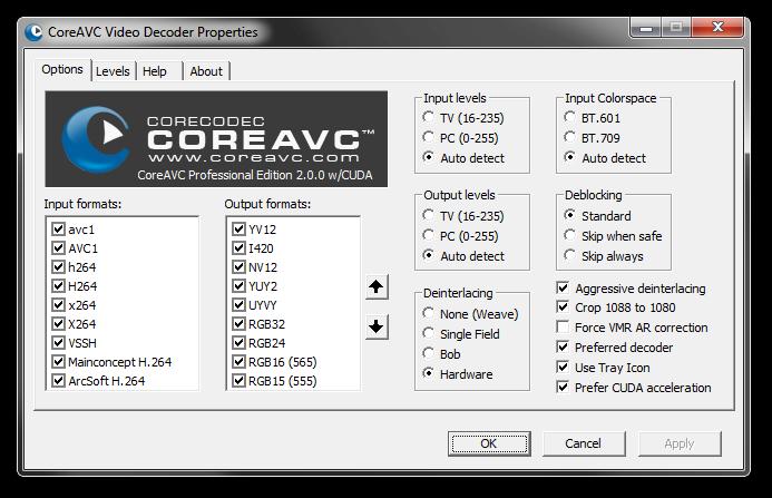 CoreAVC 2.0