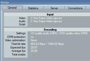 WMV encoding
