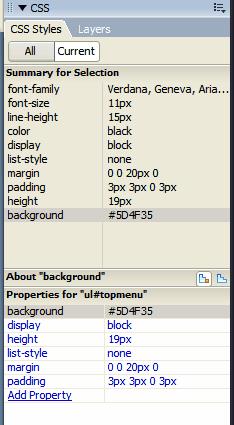 CSS dialog