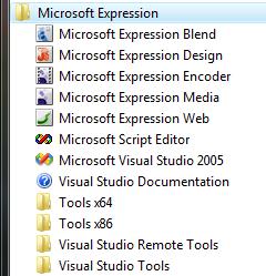 Aplikace v Expression Studio