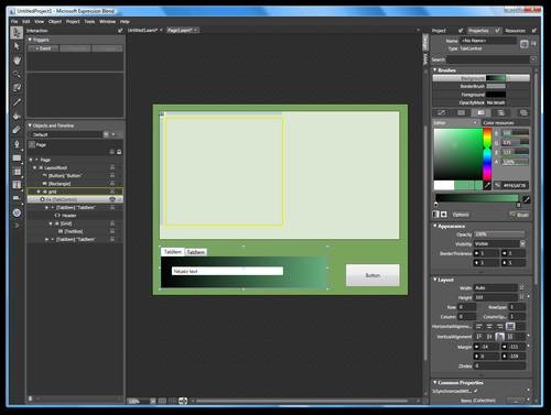 Expression Web - WYSIWYG editace