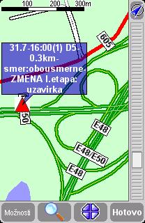bod na mapě