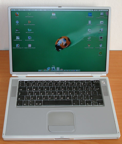 PowerBook inside