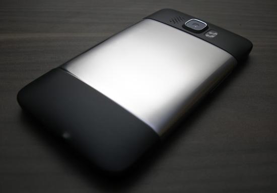 leštěný HTC HD2