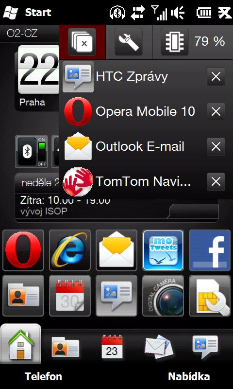 HTC HD2 - důvod 23