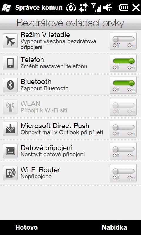 HTC HD2 - důvod 25