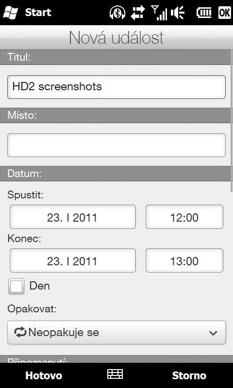 HTC HD2 - důvod 33