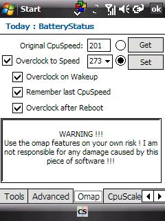 BatteryStatusExt OC