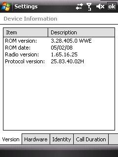 Windows Mobile 6.1 - ROM