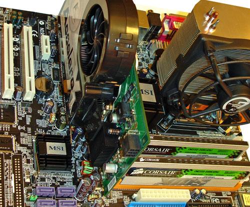Intel D805 sestava