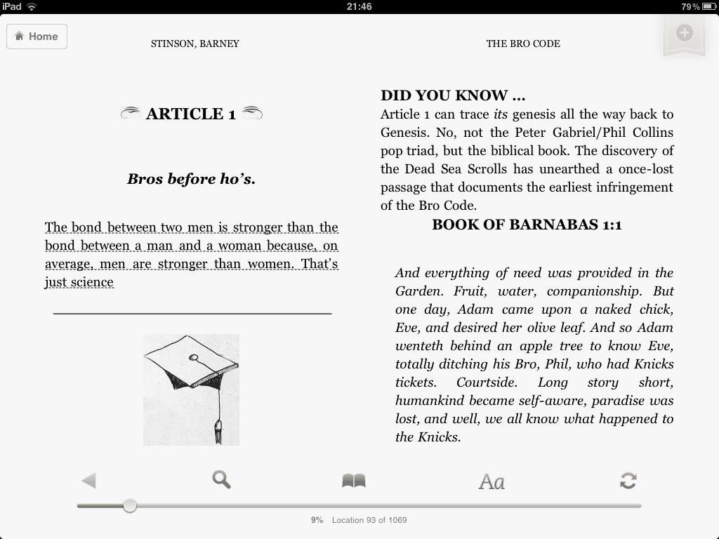 Amazon Kindle čtečka na iPadu