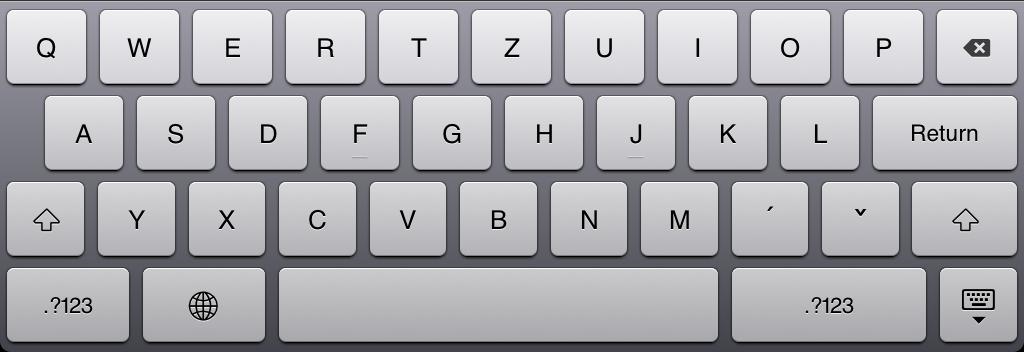 iPad 2 klávesnice