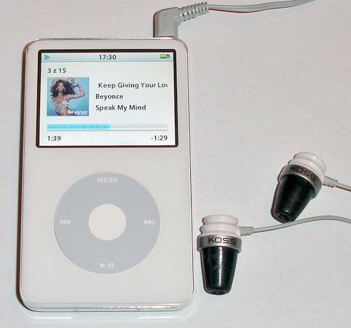 iPod Koss The Plug