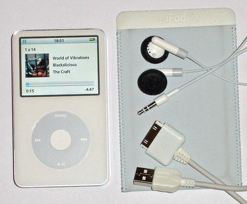 iPod příslušenství
