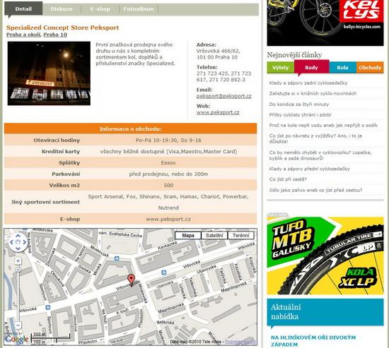 KOLO.cz detail obchodu
