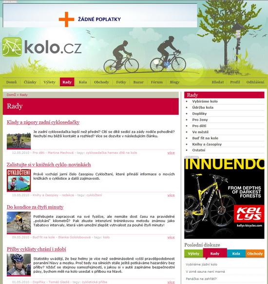 KOLO.cz rady
