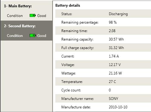 přídavná baterie