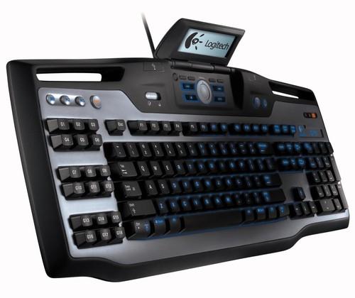 Logitech G15  je nejlepší klávesnice pro programátory