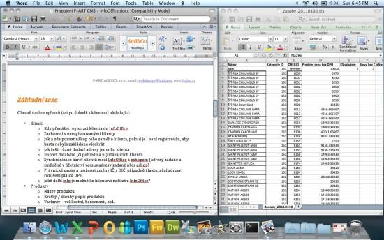 OS X a Word s Excelem