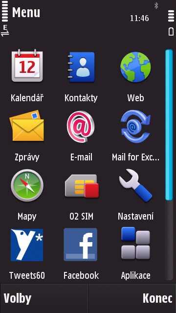 Nokia N97 aplikace