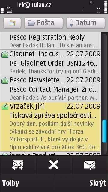 Nokia N97 Messaging
