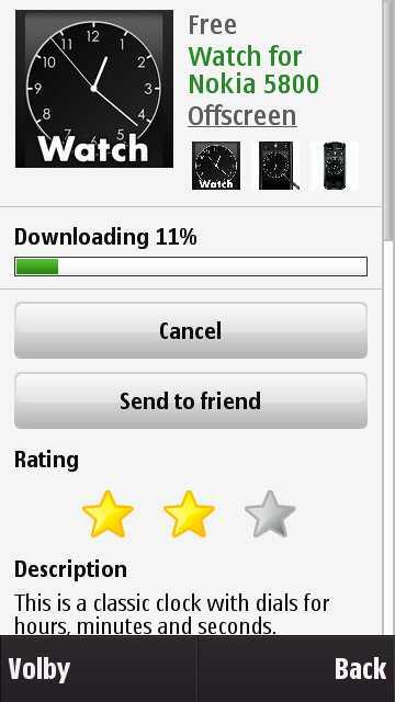 OVI Store na Nokia N97