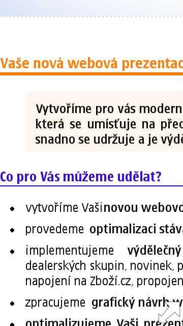 Web na Nokia N97