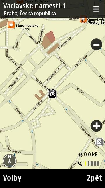Nokia Maps v telefonu