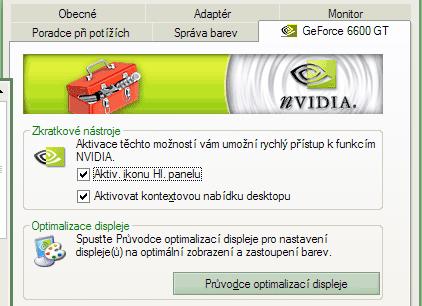 nVidia nástroje